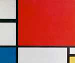 Red, Blue, and Yellow by  Piet Mondrian (Painting ID: AA-0321-KA)