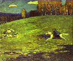 1903 Blue Rider by  Wassily Kandinsky (Painting ID: AB-0116-KA)