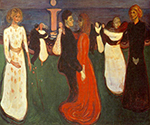 Dance of Life 1899 by  Edvard Munch (Painting ID: AB-0775-KA)
