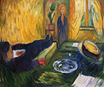 The Murderess 1906 by  Edvard Munch (Painting ID: AB-0886-KA)