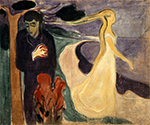 Separation 1896 by  Edvard Munch (Painting ID: AB-0890-KA)