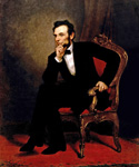 Abraham Lincoln, 16th President, Painted by George Peter Alexander Healy  (Painting ID: CM-0016-KA)