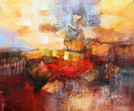 Abstract 1005 recommended for Gallery Wrap  (Painting ID: AB-1105-KA)