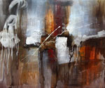Abstract 1010 recommended for Gallery Wrap  (Painting ID: AB-1110-KA)