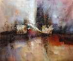 Abstract 1020 recommended for Gallery Wrap  (Painting ID: AB-1120-KA)
