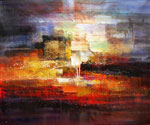 Abstract 1045 recommended for Gallery Wrap  (Painting ID: AB-1145-KA)