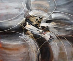 Abstract 1060 recommended for Gallery Wrap  (Painting ID: AB-1160-KA)