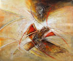 Abstract 1065 recommended for Gallery Wrap  (Painting ID: AB-1165-KA)