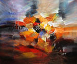 Abstract 1070 recommended for Gallery Wrap  (Painting ID: AB-1170-KA)