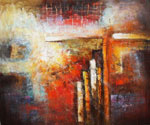 Abstract 1085 recommended for Gallery Wrap  (Painting ID: AB-1185-KA)