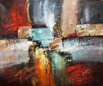Abstract 1090 recommended for Gallery Wrap  (Painting ID: AB-1190-KA)