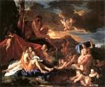 Acis and Galatea by  Nicolas Poussin (Painting ID: CM-1454-KA)