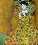 Woman in Gold Adele by  Gustav Klimt (Painting ID: EI-1842-KA)