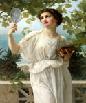 Admiring Beauty by  Guillaume Seignac (Painting ID: ED-0777-KA)