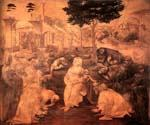 Adoration of the Magi 32 by  Leonardo Da Vinci (Painting ID: DV-2132-KA)