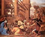 Adoration of the Magi 56 by  Nicolas Poussin (Painting ID: CM-1456-KA)