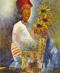 African Queen  (Painting ID: GE-0060-A)