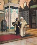 After Prayer by  Rudolf Ernst (Painting ID: ER-0101-KA)