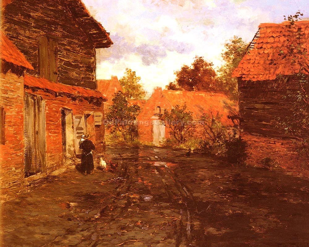 """After The Rain 86"" by  Fritz Thaulow"
