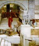 After the Audience by  Sir Lawrence Alma Tadema (Painting ID: EI-1339-KA)