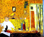 After the Meal Oil Painting (ID: AB-0741-KA)