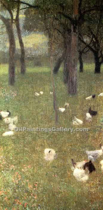 """After the Rain 17"" by  Gustav Klimt"