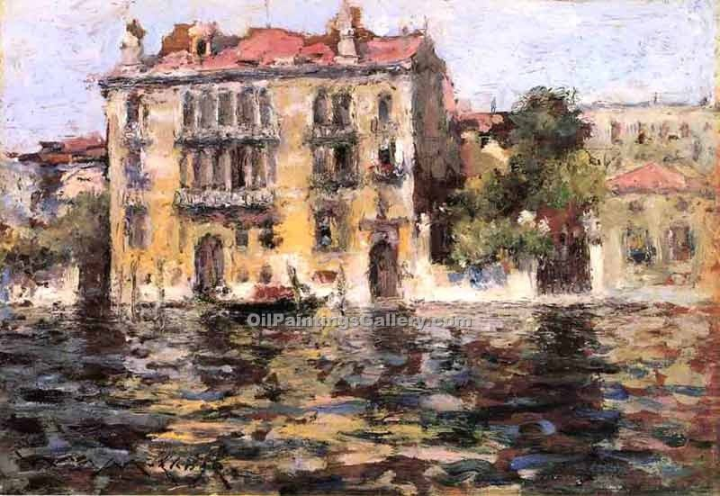 """After the Rain 47"" by  William Merritt Chase"