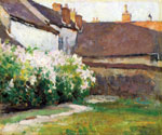Afternoon Shadows, Grez, France by  Robert Vonnoh (Painting ID: LA-3440-KA)