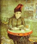 Agostina Segatori in the Cafe de Tambourin by  Vincent Van Gogh (Painting ID: VG-0237-KA)