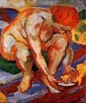 Aktonic Katze by  Franz Marc (Painting ID: AF-0147-KA)
