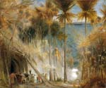 Ali Baba and the Forty Thieves by  Albert Goodwin (Painting ID: LA-1940-KA)