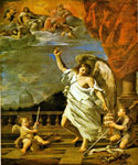 An Angel of the Lord by  Francesco Albani (Painting ID: DA-0089-KA)