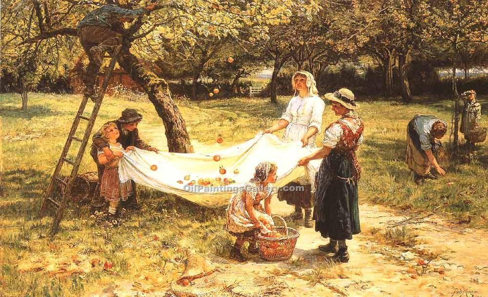 """An Apple Gathering"" by  Frederick Morgan"
