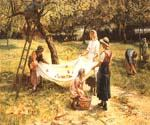 An Apple Gathering by  Frederick Morgan (Painting ID: CL-4065-KA)