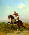 An Arab Warrior by  Georges Washington (Painting ID: ED-0400-KA)
