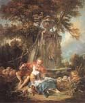 An Autumn Pastoral by  Francois Boucher (Painting ID: CM-0919-KA)