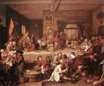 An Election Entertainment by  William Hogarth (Painting ID: CM-3052-KA)