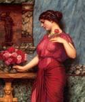 An Offering to Venus by  John William Godward (Painting ID: CL-4381-KA)