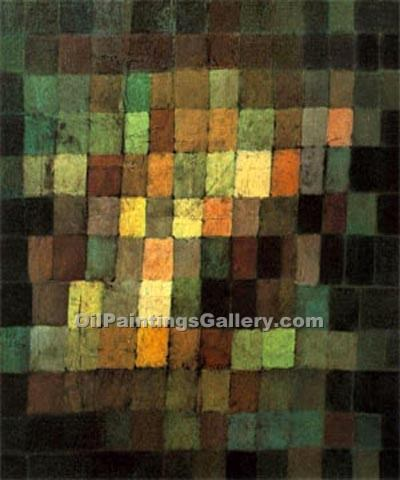 """Ancient sound"" by  Paul Klee"