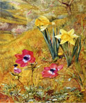 Anemones and Daffodils 94 by  Henry Roderick Newman (Painting ID: LA-3194-KA)