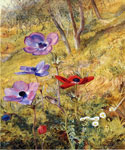 Anemones by  Henry Roderick Newman (Painting ID: LA-3196-KA)