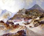 Angangueo Mexico by  Thomas Moran (Painting ID: LA-5686-KA)