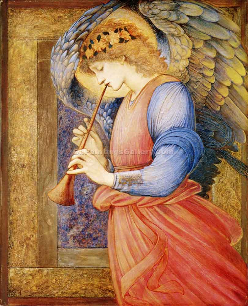 """Angel"" by  Edward Burne Jones"