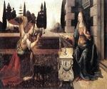 Annunciation 09 by  Leonardo Da Vinci (Painting ID: DV-2009-KA)