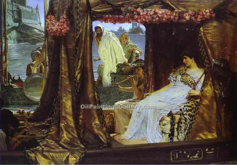 """Anthony and Cleopatra"" by  Sir Lawrence Alma Tadema"