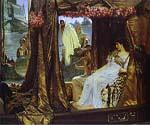 Anthony and Cleopatra by  Sir Lawrence Alma Tadema (Painting ID: EI-1305-KA)