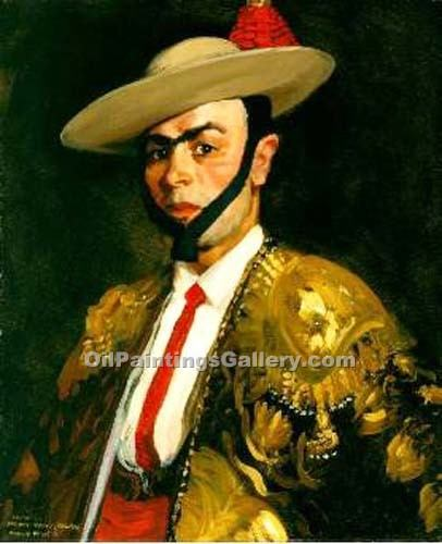 """Antonio Banos"" by  Robert Henri"