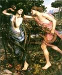 Apollo and Daphne 05 by  John William Waterhouse (Painting ID: CL-4205-KA)