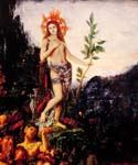 Apollo and the Satyrs by  Gustave Moreau (Painting ID: CM-2130-KA)