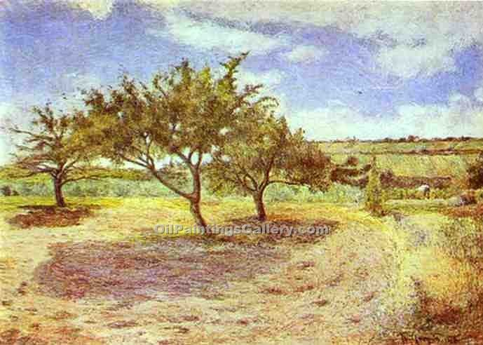 Apple Trees In Blossom by Claude Monet | Arts And Paintings - Oil Paintings Gallery